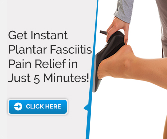 Get Relief From Plantar Fasciitis  in Minutes